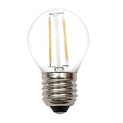 2W E26/E27 LED-gloeilampen G45 2 COB 220 lm Warm wit Decoratief AC 220-240 V