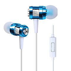 귀 금속 이어폰에서 고품질의 스테레오 헤드셋 삼성 마이크 3.5mm의 이어 버드와 핸즈프리 헤드폰 S4 / S5