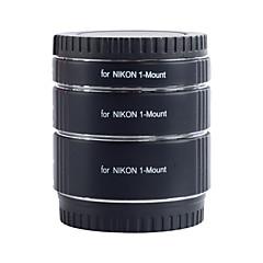 Kooka de-nm47 laiton macro tubes d'extension de af avec l'exposition auto TTL pour Nikon 1 (10mm 16mm 21mm) caméras