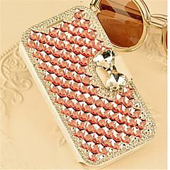 ylellinen bling kristalli timantti nahka läppä laukku kattaa Samsung Galaxy A3 / A5 / A7 / A8 (eri värejä)