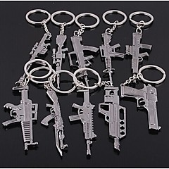 zbraně tvar Keychain náhodný typ 60 * 40 * 5mm