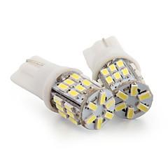 2 * t10 30 ledde 3014 smd vit bil kil sido registreringsskylt lampa lampa