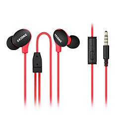 마이크 소음 감소 방지 땀 / 방수 / 미끄럼 방지를위한 DIY 고품질의 초경량 스포츠 이어폰 귀 음악 헤드폰