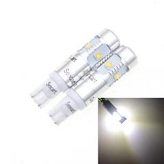 T10 25W LED para carro Lâmpada (2pcs)