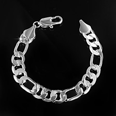 Fashion  Big Noble 925 Silver Plated Party Chain & Link Bracelets For Woman&Lady
