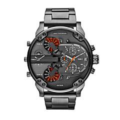 Mode für Männer beobachten Luxusmarke Diesel Uhrenband wasserdicht Quarzuhr montre Männer Militär Sport Armbanduhren