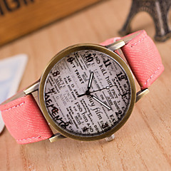Woman And Man Vintage Harajuku Graffiti Wrist  Watch