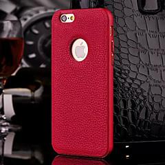 lusso hzbyc®new del cuoio genuino per il metallo integrata caso della struttura per il iphone 6plus / 6s più (colori assortiti)