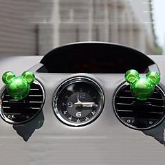 2 stuks willekeurige vorm geur auto vent luchtverfrisser outlet parfum