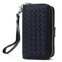 pu δέρμα πορτοφόλι φερμουάρ τσάντα πορτοφόλι με υποδοχή κάρτας κάλυμμα κινητό τηλέφωνο περίπτωση για Apple iPhone 5 / 5δ