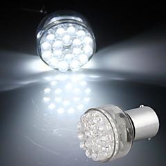 2* Car 1156 Turn Signal Parking Backup Bulb Lamp White 24 LED Light 24V