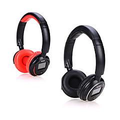 inalámbrica Bluetooth estéreo de auriculares auriculares auriculares con indicador de pantalla para el iphone samsung apoyo tf mp3 fm