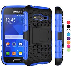 Mert Samsung Galaxy tok Ütésálló / Állvánnyal Case Hátlap Case Páncél PC Samsung Young 2 / Grand Prime / Core Prime / Ace 4