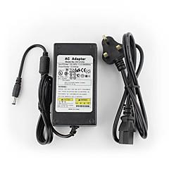 dc 12v 5000ma çıkışı (eu / au / uk / bize standardı) yanse® 12v5a cctv sistemi güç adaptörü + ac 100 ~ 240v 50 / 60Hz girişi led