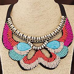 Γυναικεία Κολιέ Τσόκερ Κολάρα Ρητίνη Ύφασμα Βοημία Style Μοντέρνα Ευρωπαϊκό κοστούμι κοστουμιών Κοσμήματα Για Γάμου Πάρτι Καθημερινά