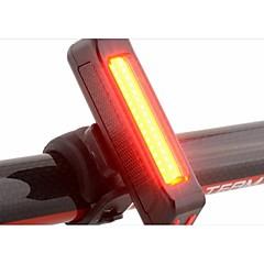 자전거 후미등 후미등 LED - 싸이클링 방수 휴대성 경고 견고함 그외 100 루멘 USB 사이클링-RAYPAL