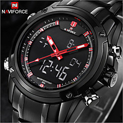 NAVIFORCE® Luxury Brand Fashion Men's Watches Strip Waterproof Quartz Watch Montre Men Military watch Sports Wrist Watch Cool Watch Unique Watch
