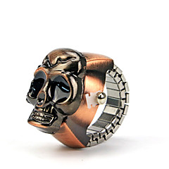 Vintage Style Skull Shape Alloy Hot Sales Ring Watch(1Pc) Cool Watches Unique Watches