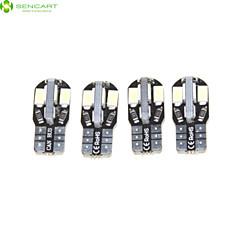 4 ×의 T10 149 168 W5W 3w 4 × SMD 5630led 220-300lm 6500K 자동차 테일 라이트 / 악기 램프 DC12V