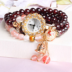 Women's Fashion Watch Bracelet Watch Quartz Japanese Quartz Imitation Diamond Band Elegant Brand