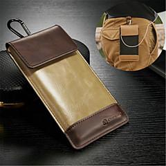 universella äkta läder metall nyckelring väska till Sony Xperia z / l36h (blandade färger)