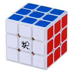 Dayan® Cube de vitesse lisse 3*3*3 Vitesse Cubes magiques Blanc ABS