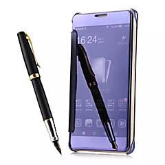 Mert Huawei tok Tükör / Flip Case Teljes védelem Case Egyszínű Kemény Akril Huawei