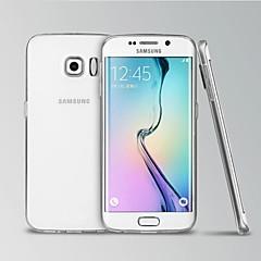 modelos de telefone invisíveis transparentes concha de silicone para Samsung Galaxy S6 borda