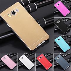 For Samsung Galaxy etui Belægning Etui Bagcover Etui Helfarve Metal for Samsung A3