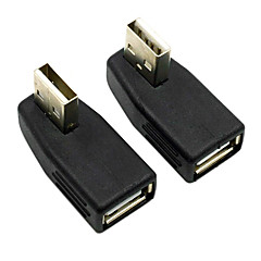 CY® Female USB 2.0 to Male USB Adapter for AUX(2 pcs)