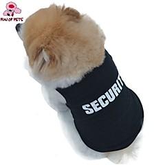 Perros / Gatos Camiseta Negro Verano Policía/Militar Boda / Cosplay / Moda