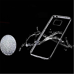 TPU ultradünne transparente Softshell mit staubdichten Stecker für Samsung-Galaxie s6 Kante plus / S6 Kante / S6
