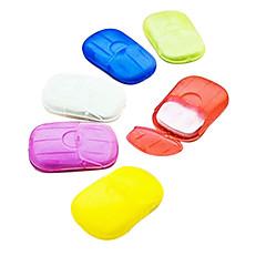 トラベル 石鹸入れ 防水 / 携帯式 小物収納用バッグ プラスチック グレー / レッド / ブラウン / オレンジ