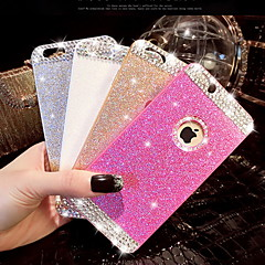 Diamond Bling Glitter Cover Case with Back Hole for iPhone 6 Plus(Assorted Colors)