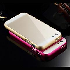luxus szuper vékony fém keret növeli akril sima felülete az egész testet fedő telefon héj iphone 5c