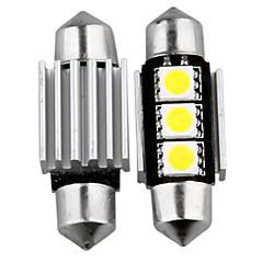 10 Canbus No Error 3 Smd Led Interior Bulb Light 36Mm