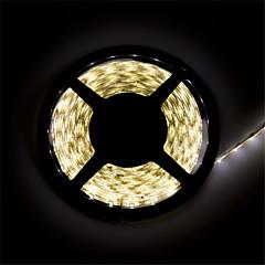 Z®ZDM Waterproof  5 m LED 300*2835 SMD DC12V warm white/natural white 28W IP65