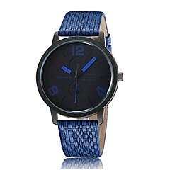 Simple fashion textile fabrics casual leather quartz watch