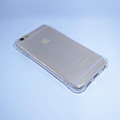 Para Capinha iPhone 6 / Capinha iPhone 6 Plus Antichoque / Transparente Capinha Capa Traseira Capinha Cor Única Macia TPUiPhone 7 Plus /