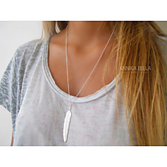 Necklace Pendant Necklaces Jewelry Party / Daily / Casual Fashion Alloy Gold / Silver 1pc Gift