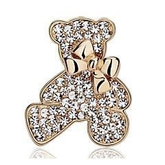Γυναικεία Στρας Επάργυρο Επιχρυσωμένο Χρυσό Ασημί Κοσμήματα Γάμου Πάρτι Causal