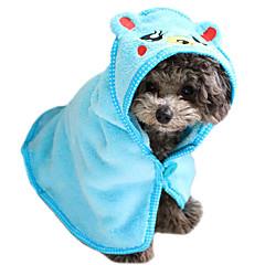 Gatto / Dog Accessori toletta / Asciugamano Portatile Velluto a coste Bianco / Blu / Marrone / Rosa