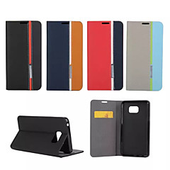 For Samsung Galaxy Note Card Holder / with Stand / Flip Case Full Body Case Lines / Waves PU Leather SamsungNote 5 / Note 4 / Note 3 /