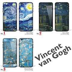 """iphone 6 / 6s corps autocollant d'art: """"œuvres de vincent van gogh (partie 1 de 3)"""" (série chefs-d'œuvre)"""