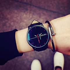 2016 Fashion Couple's Wrist Watch Watches Men and Woman Watch Simple Students Watch(Assorted Color) Cool Watches Unique Watches