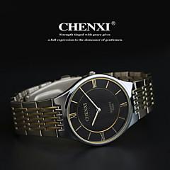 Hombre Reloj de Pulsera Cuarzo Japonés Reloj Casual Acero Inoxidable Banda Plata Marca- CHENXI®