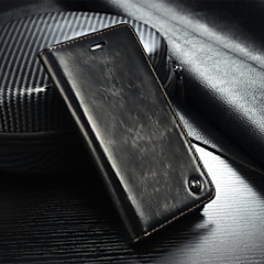 Genuine Leather Wallet Card Slot Cover Flip Case With Stand For Samsung Galaxy S7/S7 edge/S6/S6 edge/S6 edge+