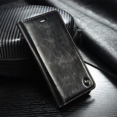 サムスンギャラクシーS7 / S7エッジ/ S6 / S6エッジ/ S6エッジ+用スタンド付き本革財布カードスロットカバーフリップケース