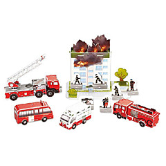 puslespil 3D-puslespil Byggesten DIY legetøj Bil Papir Sølv / Gråt Model- og byggelegetøj