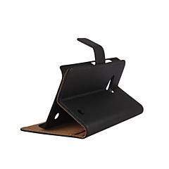feste Farblichtoberflächenmuster PU-Leder Flip Fall mit Magnetverschluss und Kartenslot für Microsoft Lumia 550